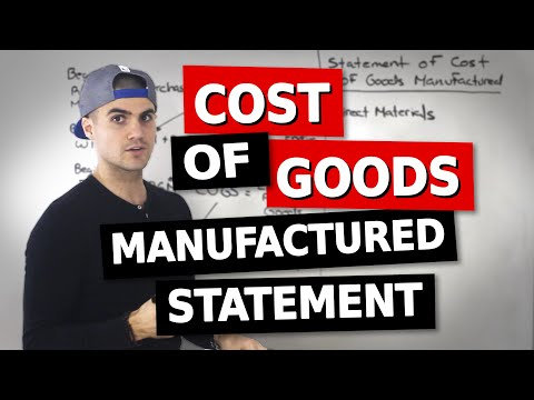 ACC 406 - Cost of Goods Manufactured Statement - Ryerson University (Managerial Accounting)
