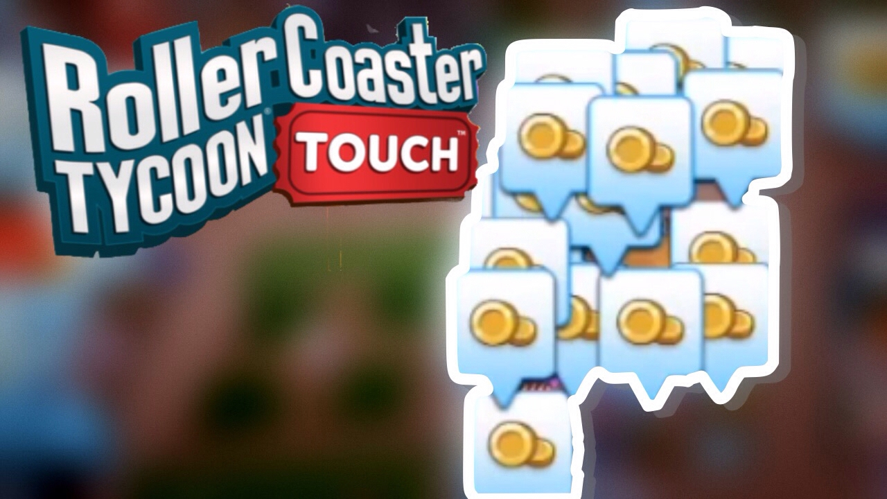 How To Make Money Quickly and Level Up Quickly[OLD] | RollerCoaster Tycoon  Touch | RCT Touch