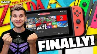 Zelda 35th Anniversary GETS GOOD on Switch! + Nintendo Joy Con Drift FIXED?