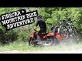 Sidecar + Mountain Bike Adventure