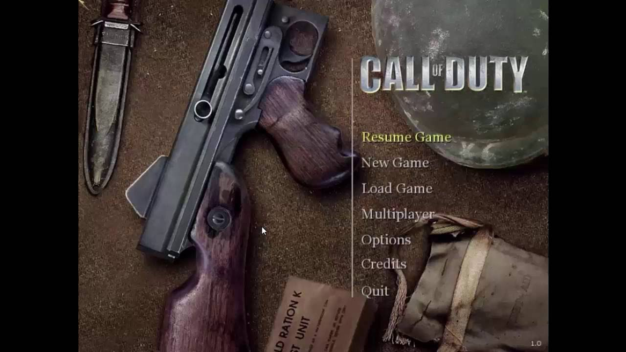 Call Of Duty 1 Game - Free Download Full Version For Pc