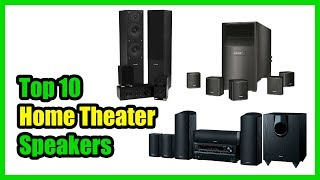 ▶️Best Home Theater Speakers in 2018 - Which Is The Best Home Theater Speaker?