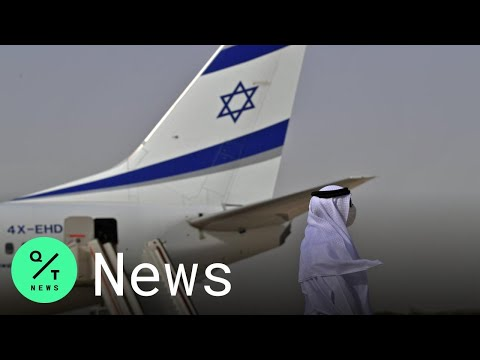 Here's What It Was Like Aboard The Historic Flight From Israel To The United Arab Emirates