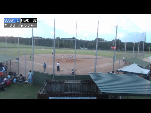 Headland vs. Suburban West - AL DYB Majors