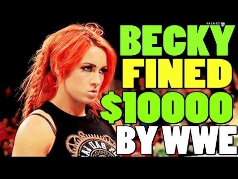 ww-news---becky-lynch-fined-$10k-for-her-actions-|-wwe-clash-of-champions-2019-review
