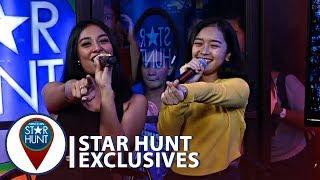 "Shawntel and Thea sings ""You're Making Me Kilig"" | Star Hunt Live Corner"