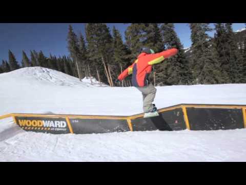 2014 Woodward Snowboard Hot Laps