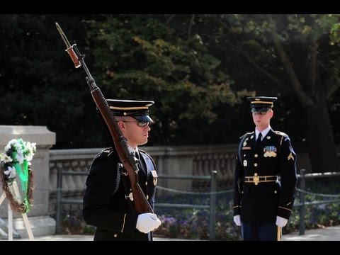 Changing of the Guard, Tomb of the Unknown Soldier, Arlington National Cemetery