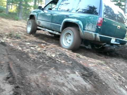 2000 Tahoe z71 muddy hill climbAVI  YouTube