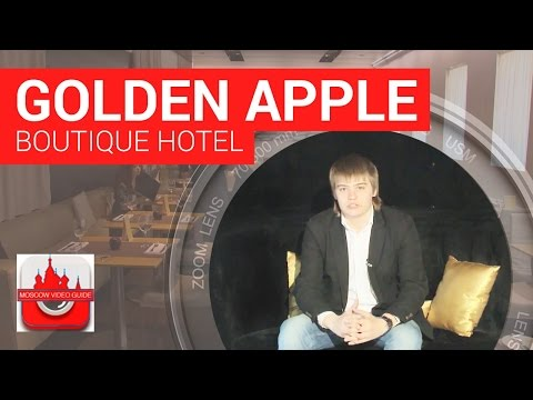 Travel to Russia. Moscow Golden Apple Boutique Hotel. [Mosco