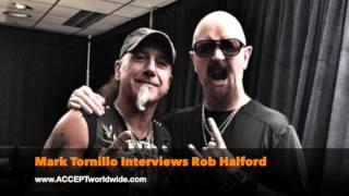 ACCEPT's Mark Tornillo Interviews Judas Priest's Rob Halford