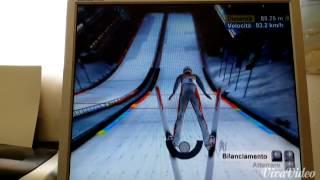 Torino 2006 PC Game - Ski Jumping LH - Gameplay