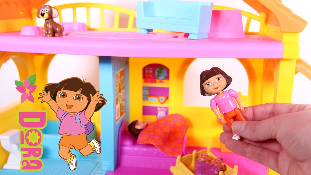Dora the explorer play dollhouse casa de dora la - Cocina dora la exploradora fisher price ...