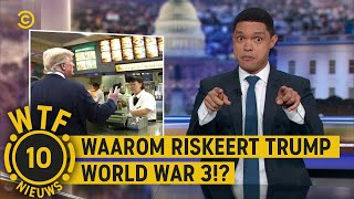 DRONE AANVAL stond op het MENU - WTF Nieuws #10 - The Daily Show