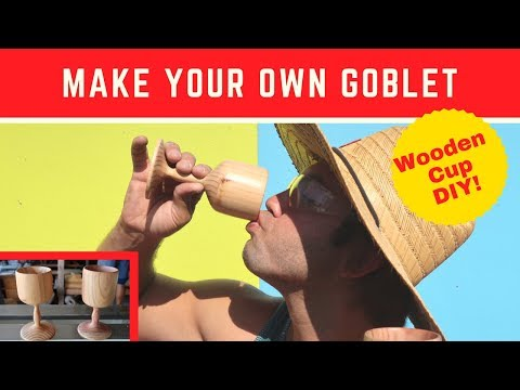 Wood Turning - A Goblet - Jet Lathe