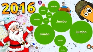 BEST AGARIO GAMEPLAY OF 2016 ( Jumbos top agar.io gameplays )