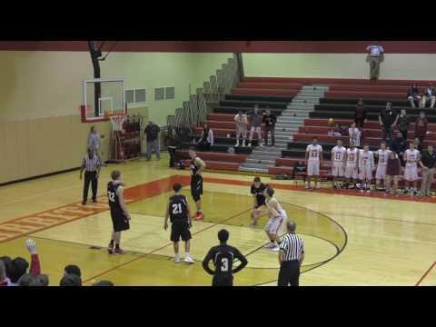 Overtime Highlights - Harriton Boys Basketball vs Strath Haven - Senior Night 2017 | HarritonTV