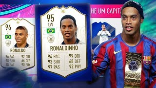 IMPOSSIVEL VEIO RONALDO E RONALDINHO NO DRAFT RETRO