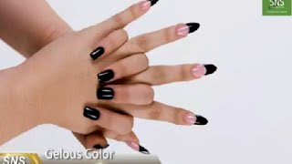 SNS Nails - Signature Nail System:  SNS Gelous Color dipping powder - Dip it instruction 6