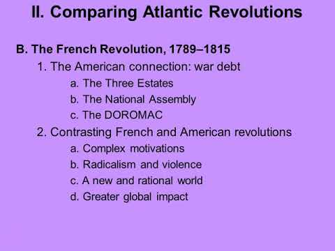 altantic revolutions essay Revolutions in the atlantic world wields a comparative lens to reveal several central themes in the field of atlantic history, from the concept of european empire and the murky position it occupied between the old and new worlds to slavery and diasporas how was the stability of the old regimes undermined.