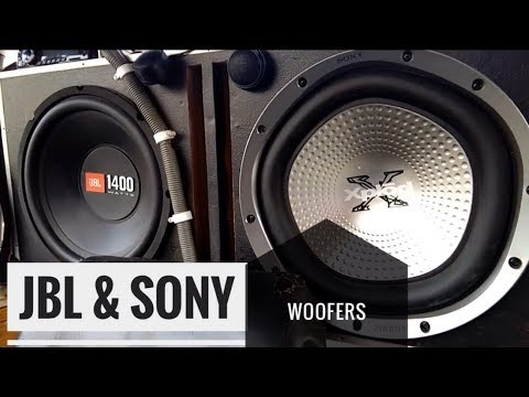 Best JBL & sony  woofer sound system in tractor & car 2018