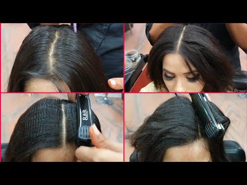 घर बैठे 5 मिनट में सीखें बालों में पार्लर जैसी क्रंपिंग करना how to hair crimping for beginners