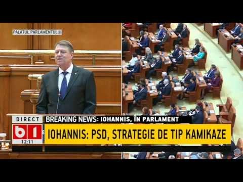 Discurs KLAUS IOHANNIS in Parlamentul Romaniei 07 02 2017