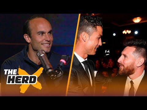 Messi vs Ronaldo: Landon Donovan picks who will triumph in 2018 FIFA World Cup™ | SOCCER | THE HERD