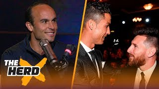 Messi vs Ronaldo: Landon Donovan picks who will triumph in 2018 FIFA World Cup™ | SOCCER | THE HERD