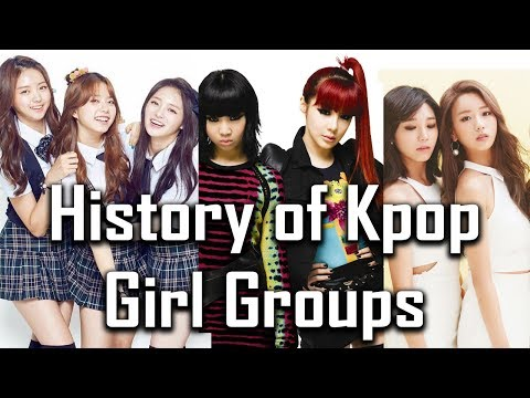 A Brief History of Kpop Girl Groups