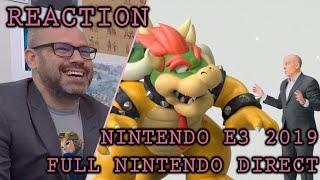 Reaction: Nintendo E3 2019 Direct (FULL)