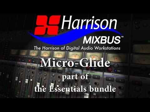 Micro-Glide Plug-in for Harrison Mixbus