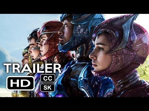 Power Rangers Official Trailer #1 - Slovenské titulky