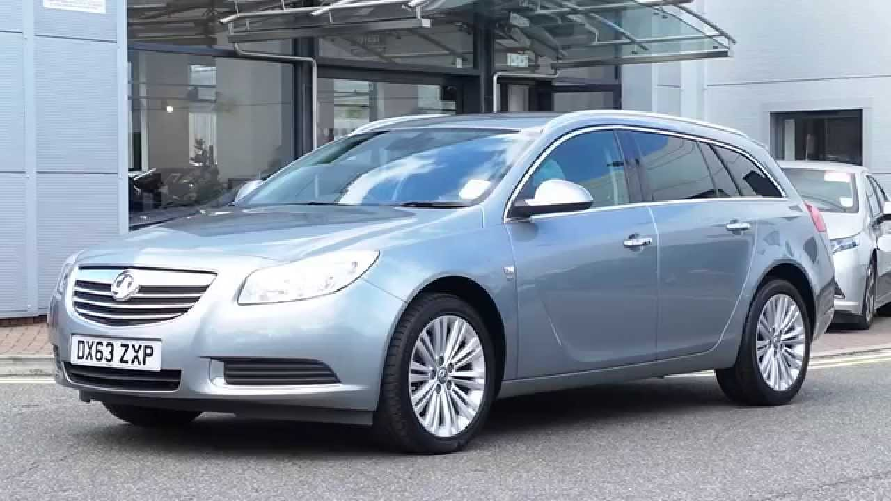 2013 63 Plate Vauxhall Insignia 2 0 CDTi 160PS SE Nav Sports Tourer Estate  In Silver Lake