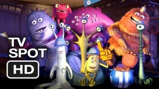 Monsters, Inc. 3D TV SPOT - Review (2012) Pixar Animated Movie HD