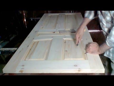 كيفية صنع باب خشبي كليا - How To Make A Wooden Door
