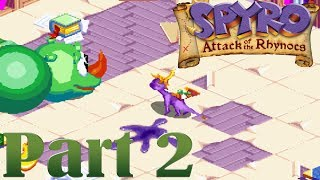 Spyro - Attack of the Rhynocs [Part 2] Pathetic Book Worm! [HD]