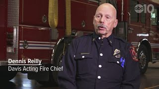 RAW: Acting Davis Fire Chief on department recovery after Davis shooting