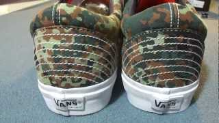 Shoe Review: Vans Syndicate 'carhartt Wip' Camo Old Skool '92 Re-issue