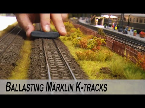 Ballasting model railroad tracks EASY – Detailed guide DIY