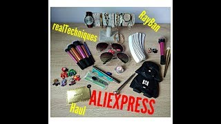 Aliexpress haul #3 / realtechniques, RB,  zakupy na aliexpress