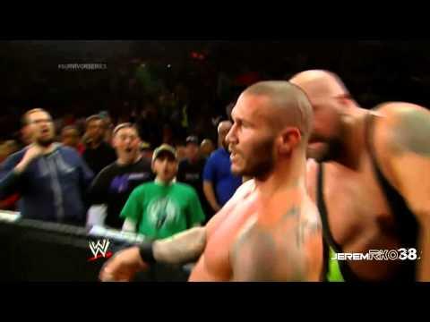 Big Show KO Punch on Randy Orton - Survivor Series 2013 - November 24, 2013