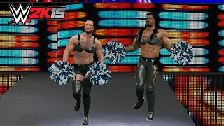 WWE 2K15 PC Mod - Roman Reigns & Dean Ambrose as the Funkadactyls
