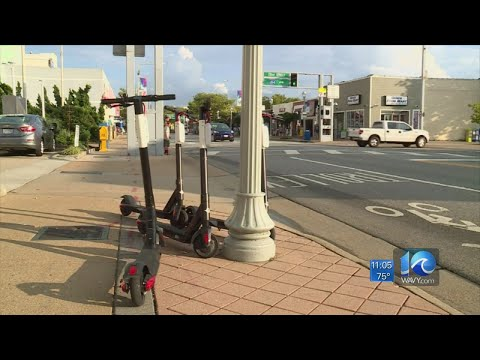 DJ DC - Virginia Beach votes to ban e-scooters from Oceanfront!