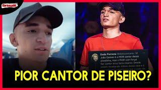 João Gomes é chamado de PIOR cantor da pisadinha por youtuber sertanejo