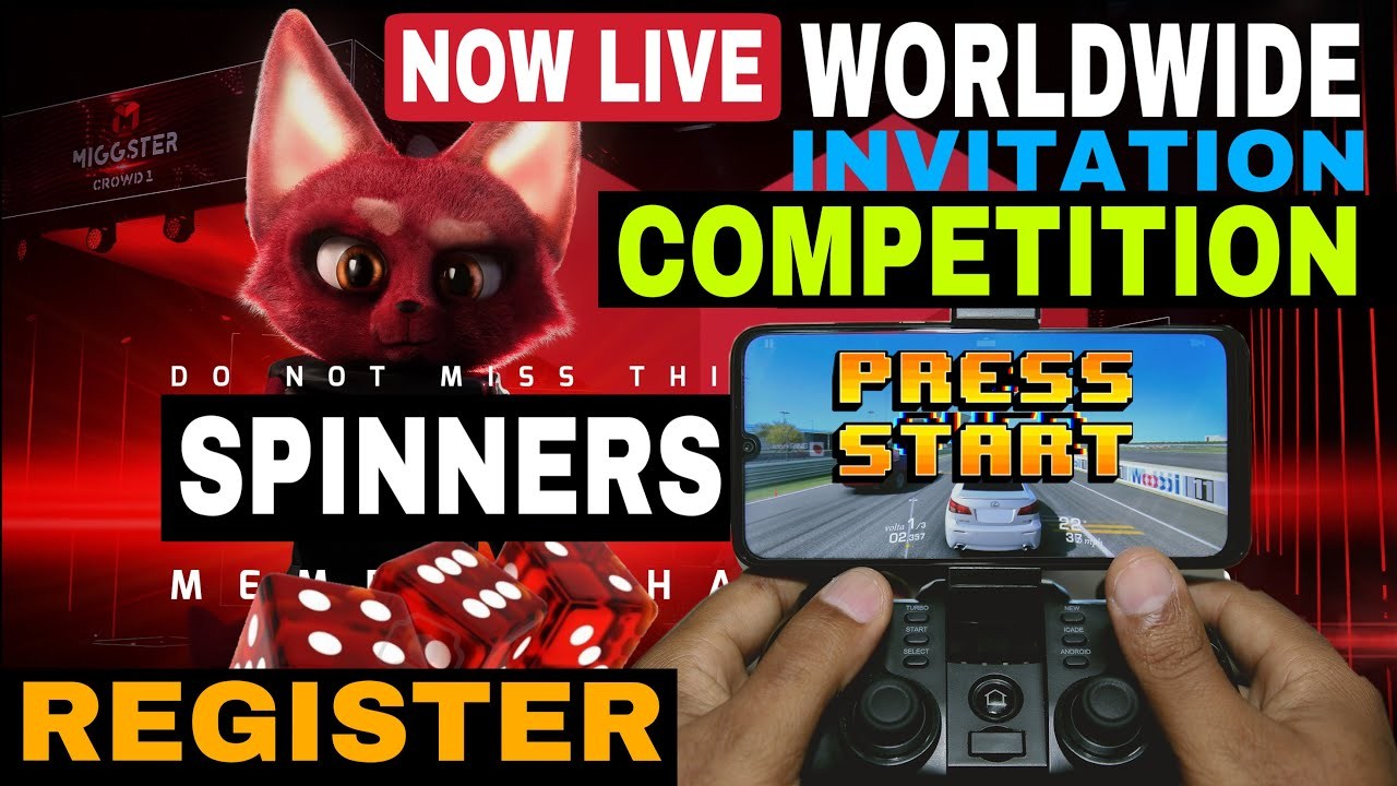 NOW LIVE COMPETITION BEGIN MIGGSTER INVITATION