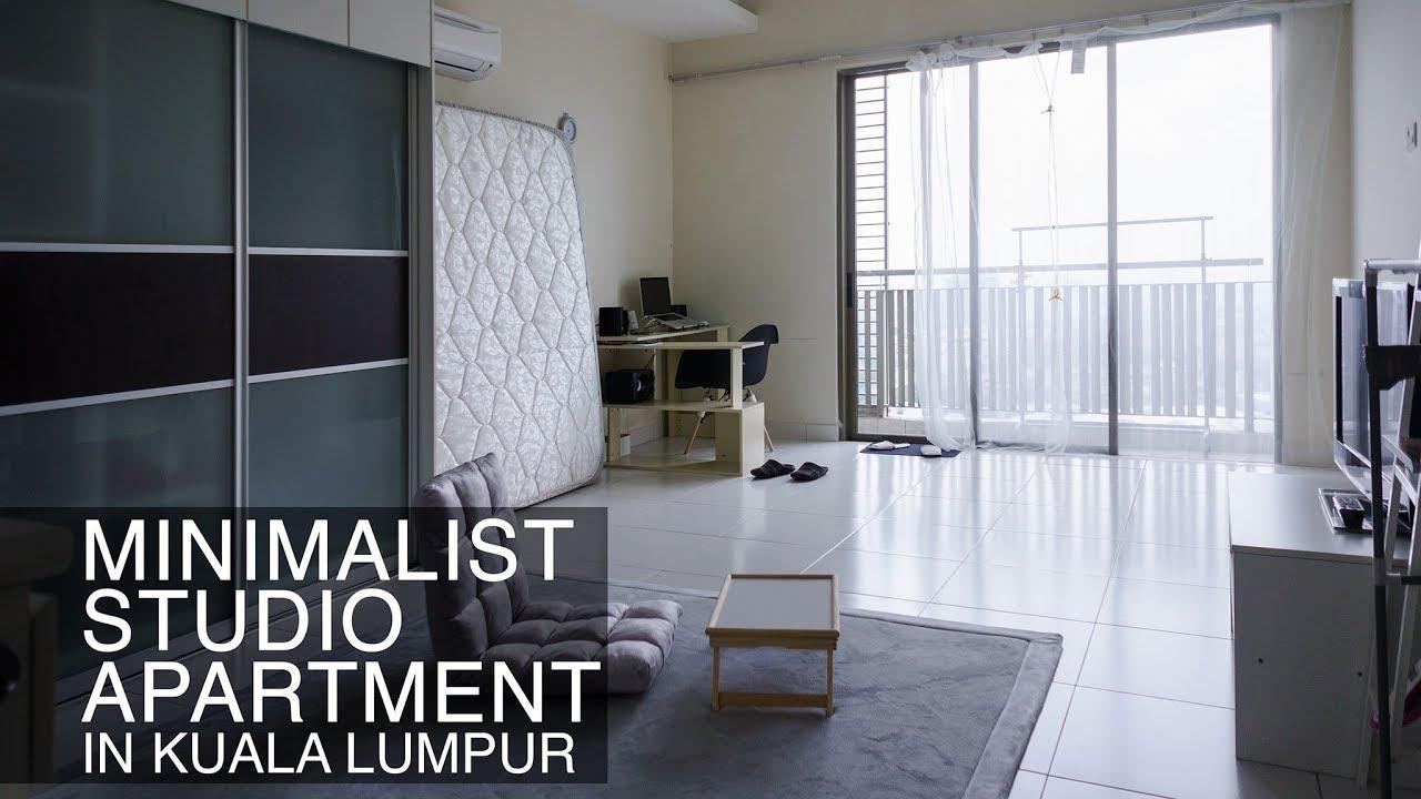 Minimalist Studio Apartment In Kuala Lumpur Malaysia クアラルンプールのミニマリストアパート