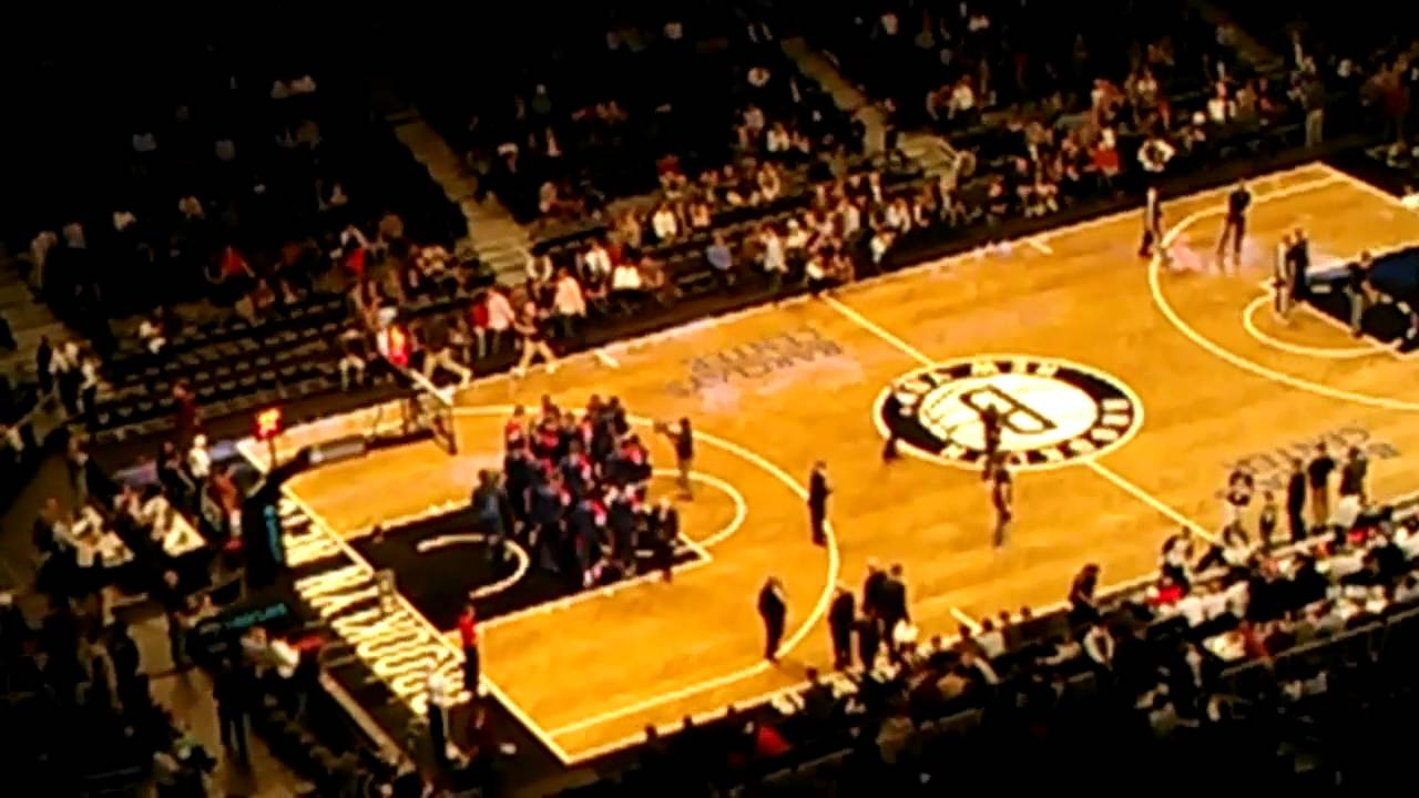First Ever Brooklyn Nets Home Game National Anthem