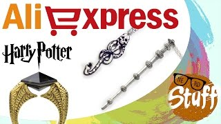 Harry Potter Aliexpress: Marchio Nero, Horcrux e Bacchette  (HAUL ITA)