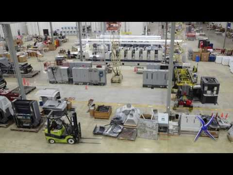 Industrial Installation Time Lapse 2011